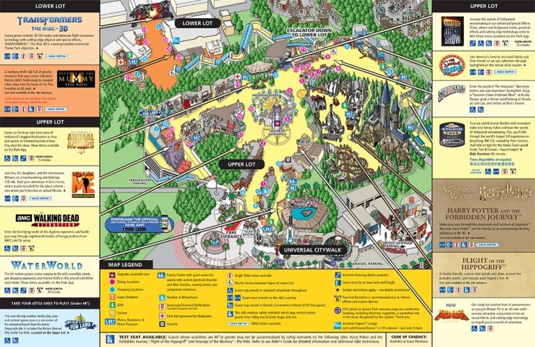 [Trip Report DLR] Découverte de Disneyland Resort + USH + Los Angeles entre copains septembre 2019 ! - Page 3 Map