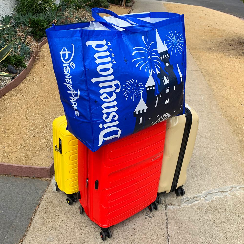 [Trip Report DLR] Découverte de Disneyland Resort + USH + Los Angeles entre copains septembre 2019 ! - Page 3 Suitcases