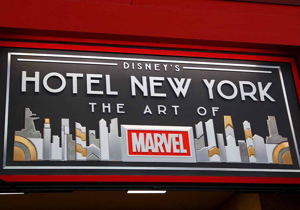[Trip Report DLP] Découverte du Disney's Hotel New York – The Art of Marvel ! Communs_9